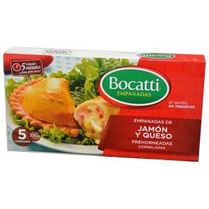 Bocatti x 5 Jamón y Queso