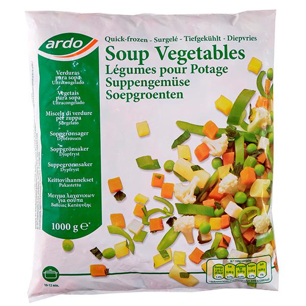 Ardo Sopa Vegetales