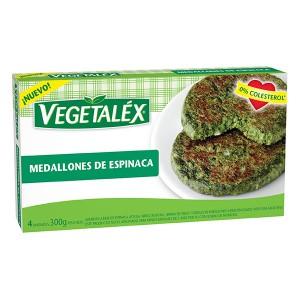 Vegetalex Medallones de Espinaca
